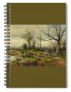 David Bates England Spiral Notebook