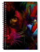 David Bowie - Cat People  Spiral Notebook