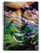 David Bowie The Legend Spiral Notebook