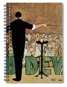 David Devant Poster C1910 Spiral Notebook