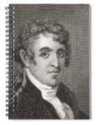 David Humphreys,1752 To 1818 Spiral Notebook