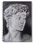 David In Pencil Spiral Notebook
