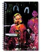 David Wingo On Stage Spiral Notebook