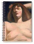 David's Bathsheba Spiral Notebook