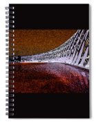 David's Olympic Photo Spiral Notebook
