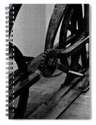 Davinci Bike Chain Spiral Notebook
