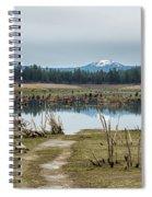 Davis Creek And Maiden Peak Spiral Notebook