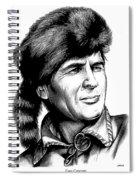 Davy Crockett Spiral Notebook