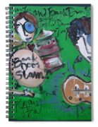 Davy Knowles And Back Door Slam Spiral Notebook