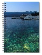 Dawn Arrives At Lake Tahoe  Spiral Notebook