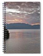 Dawn At Casa De Mundo Lake Atitlan 1 Spiral Notebook