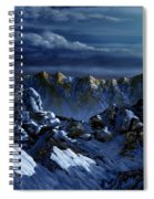 Dawn At Eagle's Peak Spiral Notebook