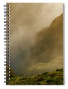 Dawn At Fogo Crater Spiral Notebook