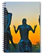 Dawn At Last Spiral Notebook