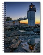 Dawn At Marshall Point Spiral Notebook