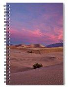Dawn At Mesquite Flats #2 - Death Valley Spiral Notebook