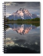 Dawn At Oxbow Bend Spiral Notebook