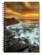 Dawn At Porthcawl Spiral Notebook
