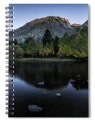 Dawn At Rush Creek 2 Spiral Notebook
