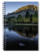 Dawn At Rush Creek 3 Spiral Notebook