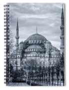 Dawn At The Blue Mosque Spiral Notebook