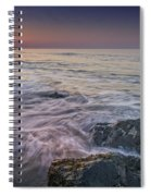 Dawn Breaks At Cape May Spiral Notebook