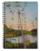Dawn By The Pond Spiral Notebook