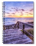 Dawn Colors Spiral Notebook