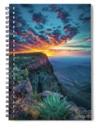 Dawn In The Chisos Spiral Notebook