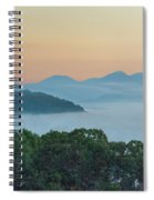Dawn In The Smokies Spiral Notebook