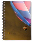 Dawn Launch Balloon Fiestas Albuquerque New Mexico  Spiral Notebook