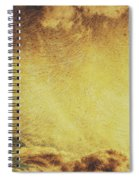 Dawn Of A New Day Texture Spiral Notebook