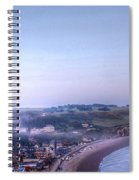 Dawn Of Etretat Spiral Notebook
