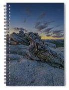 Dawn On Sentinel Spiral Notebook