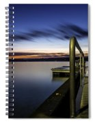 Dawn On Skaneateles Lake Spiral Notebook