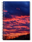 Dawn On The Farm Spiral Notebook