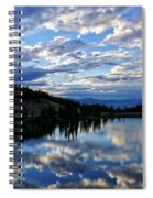 Dawn Over Big Sky Spiral Notebook