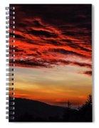 Dawn Over Big Spruce Knob Spiral Notebook