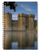 Dawn Over Bodiam Castle Spiral Notebook