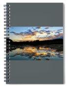 Dawn Over Boerne Creek Spiral Notebook