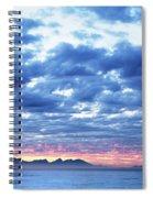 Dawn Over False Bay 2 Spiral Notebook