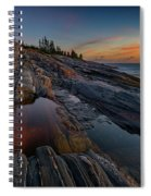 Dawn Over Pemaquid Point Spiral Notebook