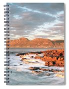 Dawn Over Simons Town South Africa Spiral Notebook