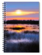 Dawn Over The Salt Marsh Spiral Notebook