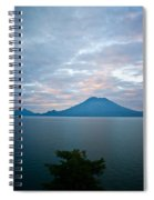Dawn Over The Volcano 4 Spiral Notebook