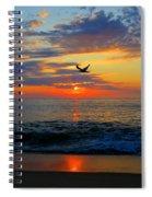Dawning Flight Spiral Notebook