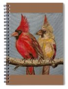 Dawn's Cardinals Spiral Notebook