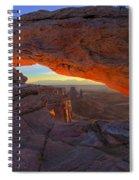 Dawns Early Light Spiral Notebook
