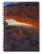 Dawns Early Light Spiral Notebook