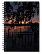 Dawns Light Spiral Notebook
